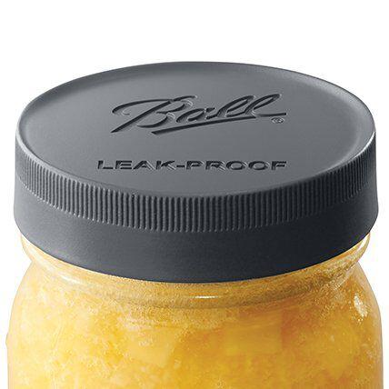 Leak proof jar lid