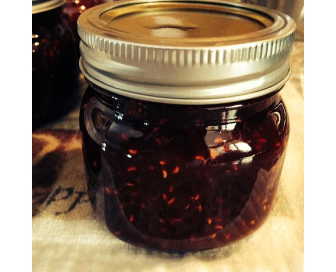 food preserving in mason jar
