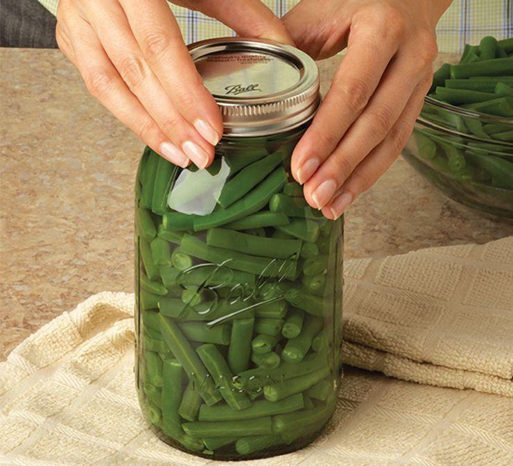 food in jar