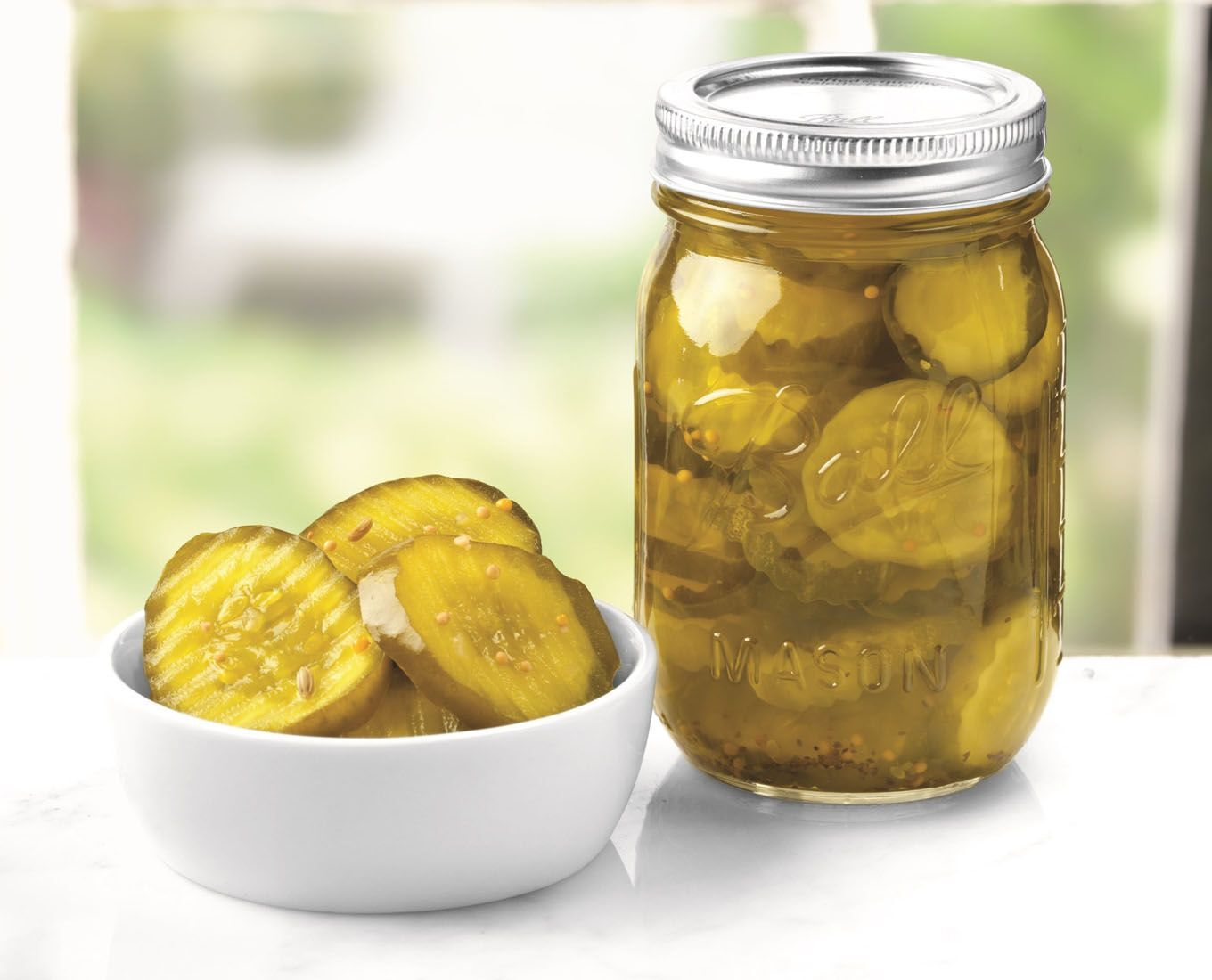 mason jar preserving pickles