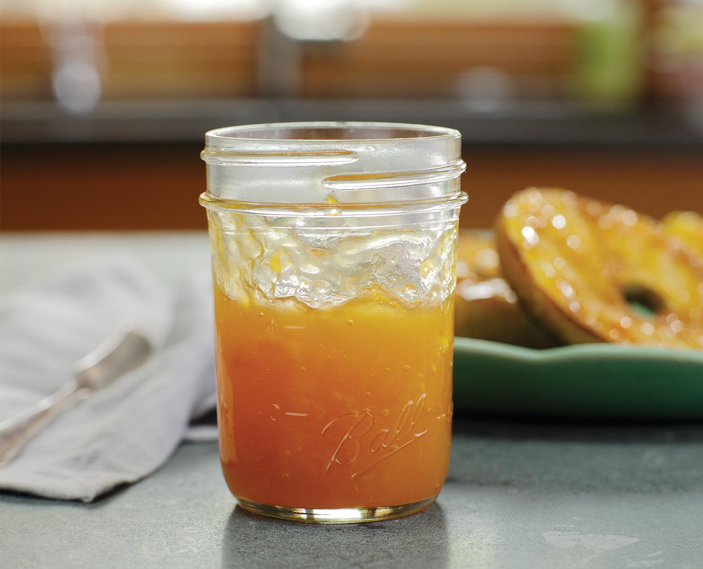 Peach No Sugar Jam